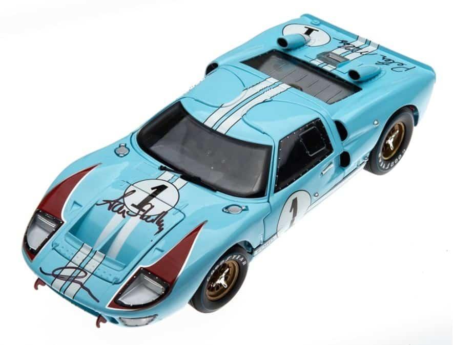 El mítico Ford GT40 MKII de Le Mans 1966 a escala y de forma limitada
