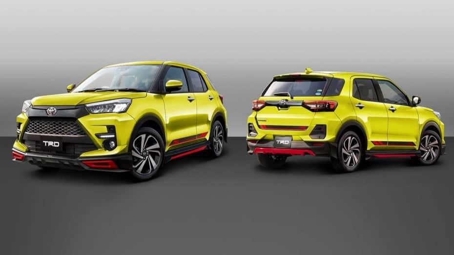 TRD yModellista nos traen jugosas actualizaciones visuales para el pequeño Toyota Raize