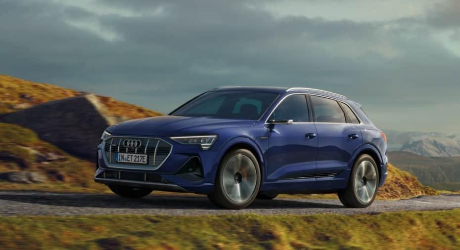 El Audi e-tron llega con mejoras: Más autonomía, una segunda variante más ligera y mucho más