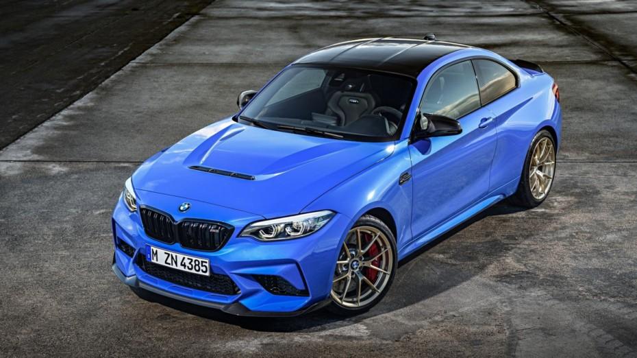 ¡Filtrado!: Así es el BMW M2 CS, un coupé de 450 CV que se presenta como el punto final de la Serie 2