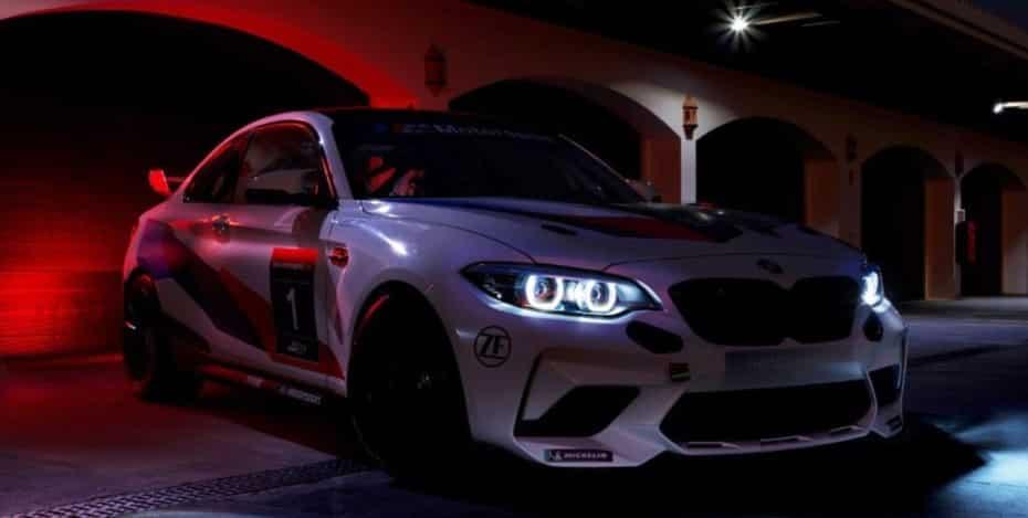 BMW nos muestra una imagen del M2 CS Racing, sucesor del M240i Racing