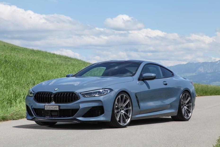 El BMW Serie 8 de Dahler se ríe incluso de los nuevos BMW M8 Competition