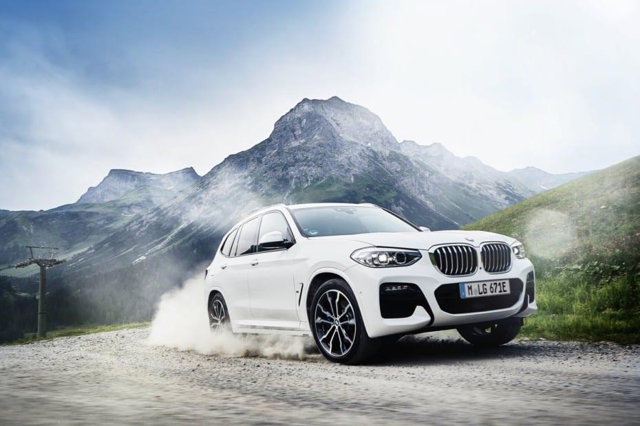 BMW lanzará en primavera la versión híbrida enchufable del X3