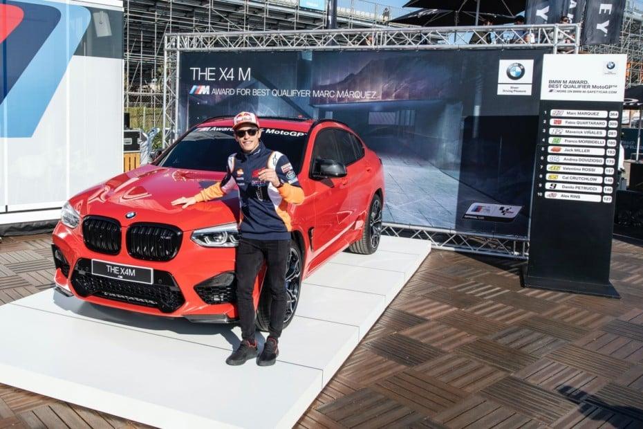 El nuevo juguete de Marc Márquez es un BMW X4 M Competition de 510 CV ¡Y van 7 victorias consecutivas!