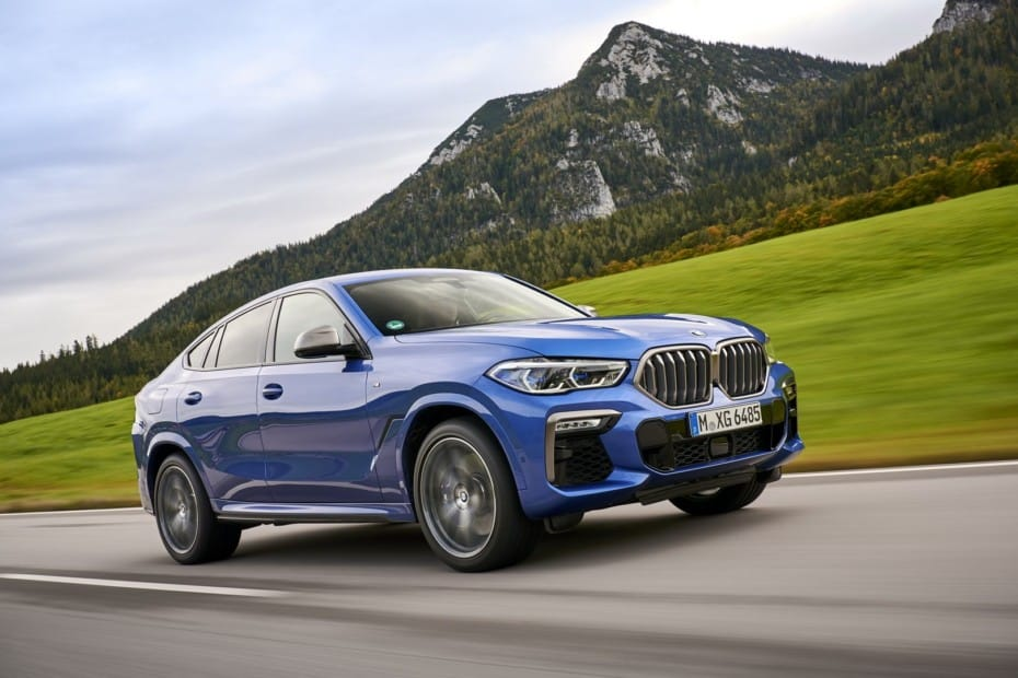 BMW apostará por el hidrógeno en los X6 y X7