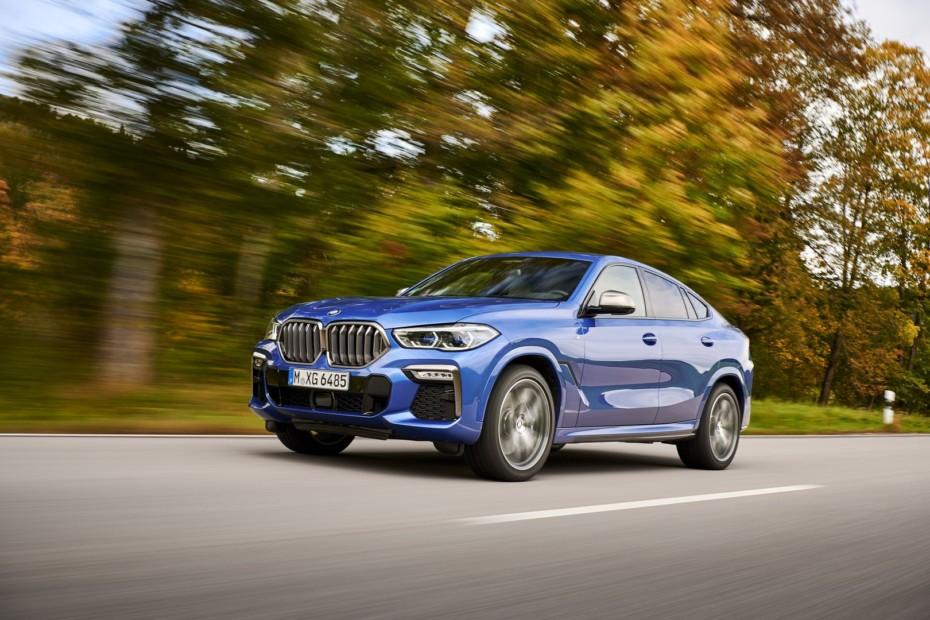 Nuevas imágenes del BMW X6 2019: Descubre todos los secretos del SUV bávaro