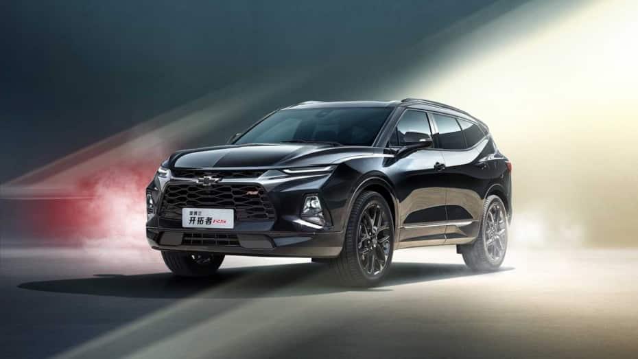 Así son los Chevrolet Menlo y Blazer de siete plazas para el mercado chino