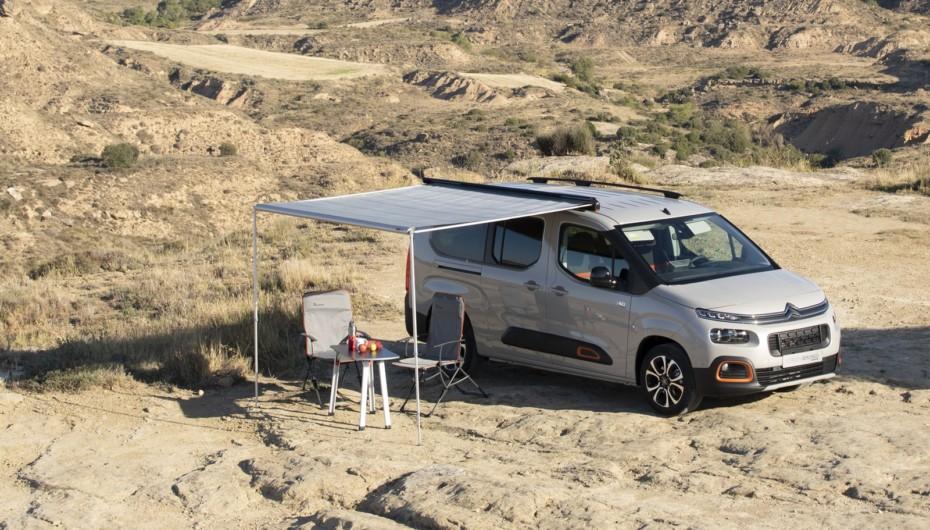 Citroën Berlingo by Tinkervan: Una camper compacta, asequible y realmente completa