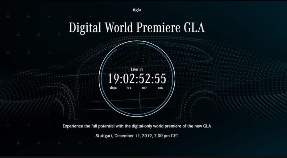 Conoceremos un nuevo Mercedes-Benz GLA el 11 de diciembre: Primeros detalles