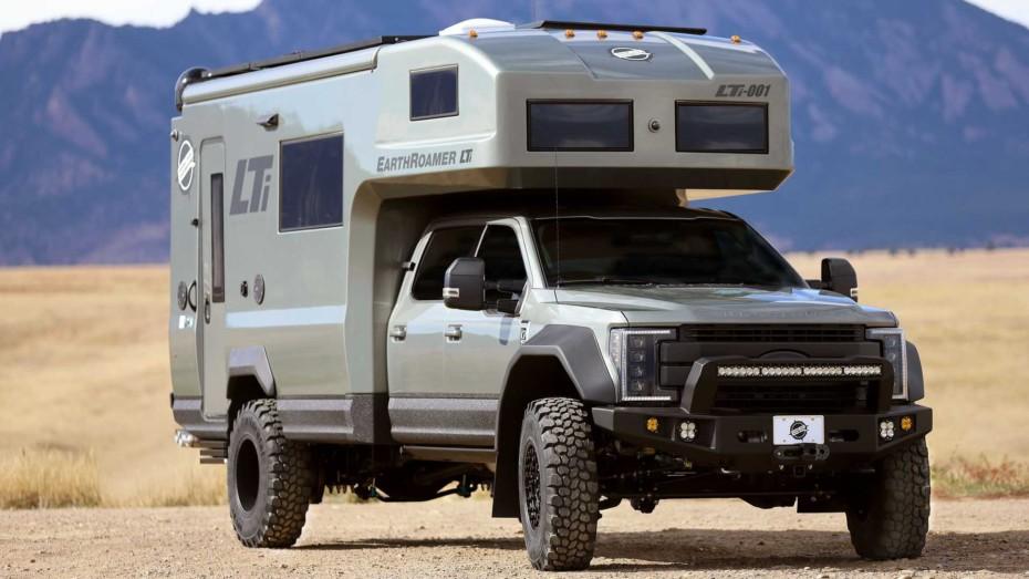 EarthRoamer XV-LTi 2020: Nada se le resiste a este lujoso apartamento sobre ruedas
