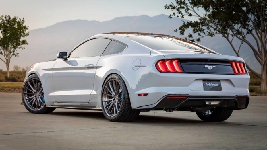 Ford Mustang Lithium: Una bestia eléctrica de 900 CV, cambio manual y 1356 Nm de par