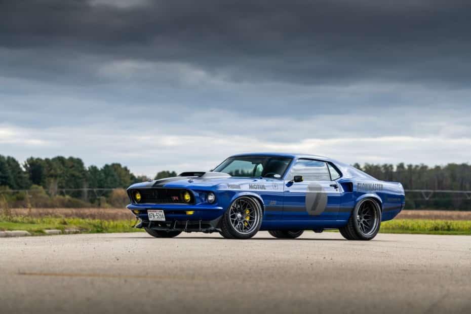 Este Ford Mustang Mach 1 de 1969 tiene un corazón V8 atmosférico con más de 700 CV