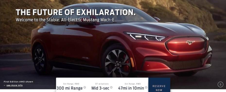 ¡Filtrado! Así es el Ford Mustang Mach-E 2021: Todos los detalles del SUV eléctrico
