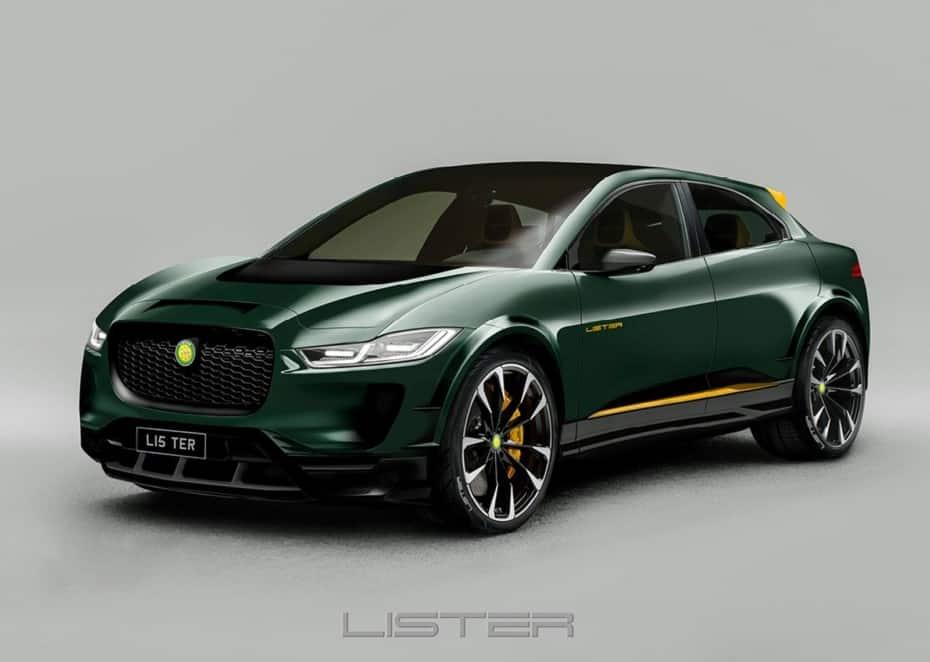 Lister le mete mano al Jaguar I-Pace: 100 kg menos y muchos detalles exclusivos