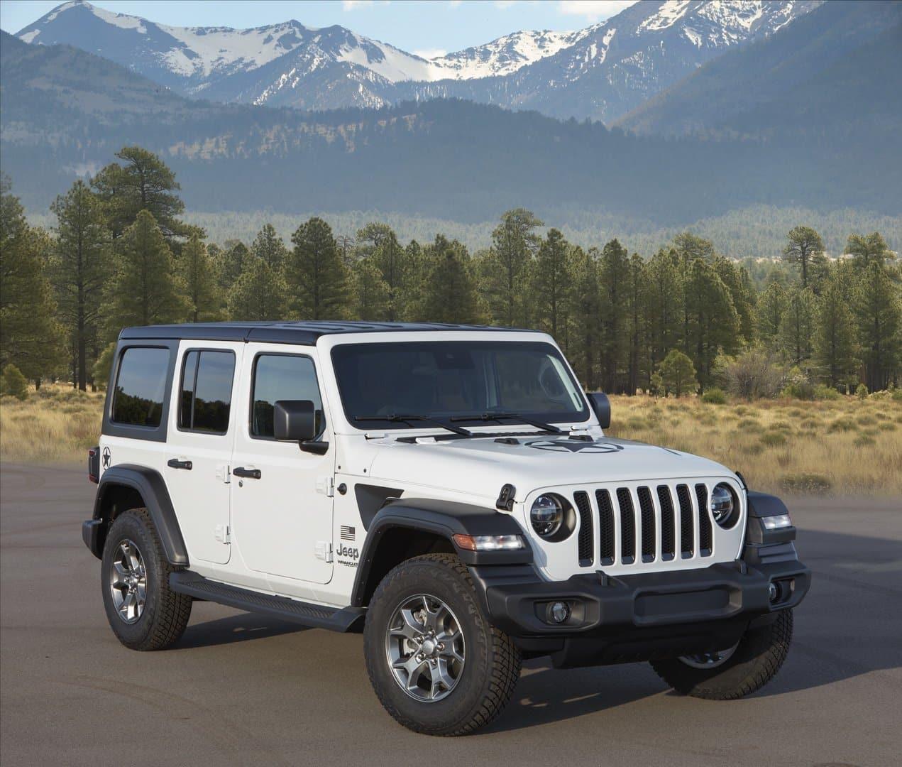 2020 The Jeep Wrangler Spy Shoot