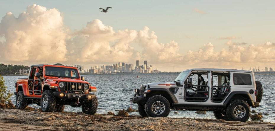Jeep Wrangler y Gladiator 'Three 0 Five' Edition: Tan playeros como la ciudad a la que rinden homenaje