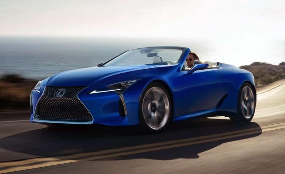 Lexus LC 500 Convertible 2020: El seductor descapotable nipón ya es una realidad