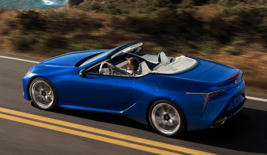 El Lexus LC 500 Cabrio ya tiene precio en España: Extremadamente atractivo y equipado