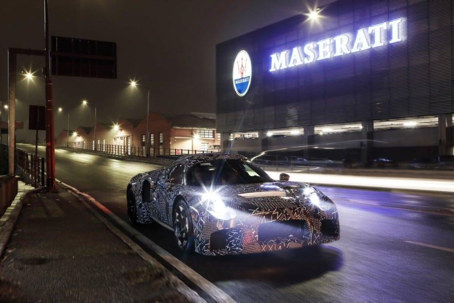 El nuevo motor de Maserati ya está siendo probado: ¿Los veremos en deportivos de FCA Y PSA?