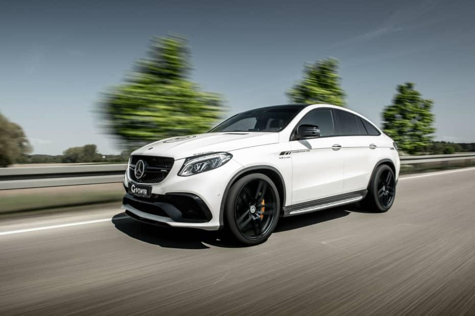 Hasta 215 CV extra para el Mercedes-AMG GLE 63 S Coupé por cortesía de G-Power