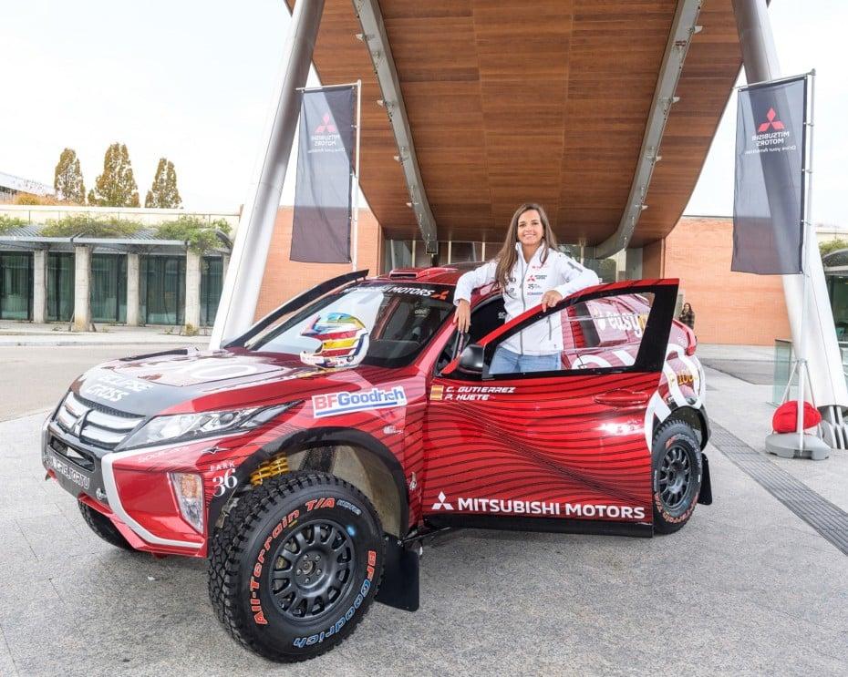 Cristina Gutiérrez vuelve al Dakar 2020 con más ganas que nunca y un Mitsubishi Eclipse Cross mejorado