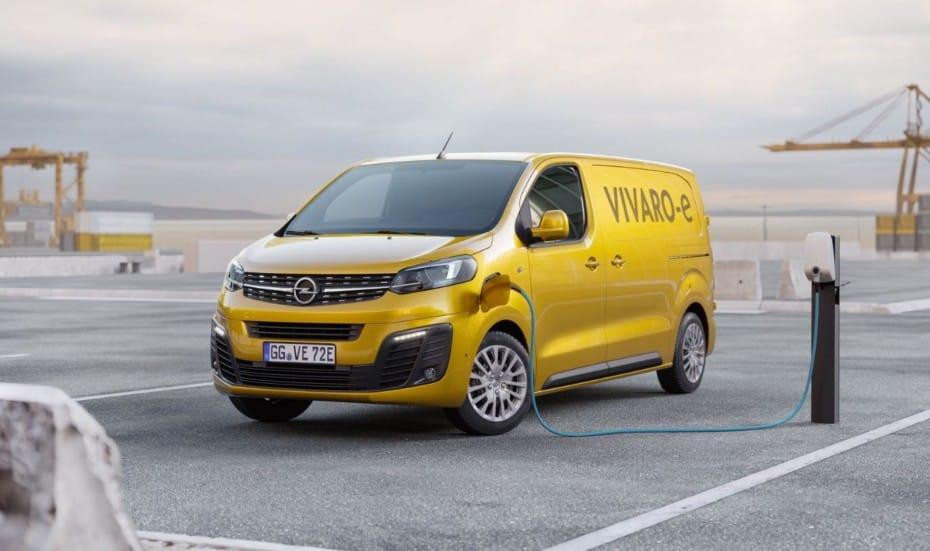 Opel Vivaro-e: Llegará con dos baterías diferentes y hasta 298 km de autonomía