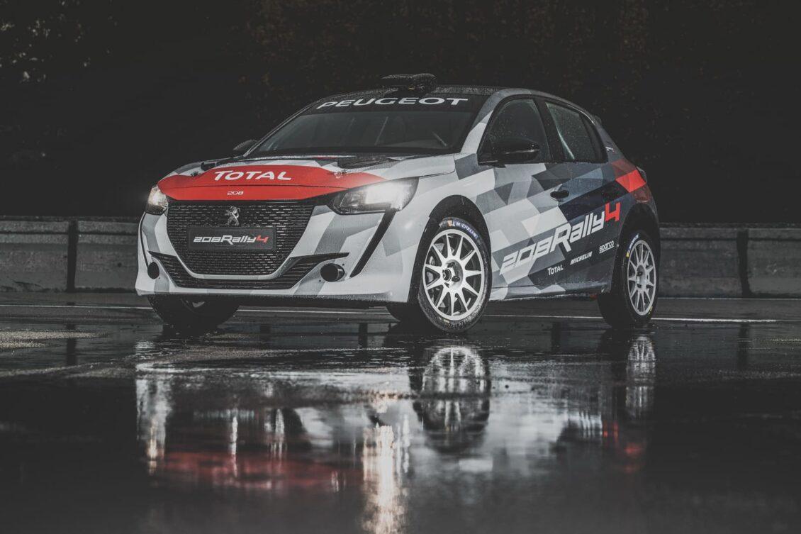 El Peugeot 208 Rally 4 2020 debuta este fin de semana con un motor tricilíndrico de 1.2 litros