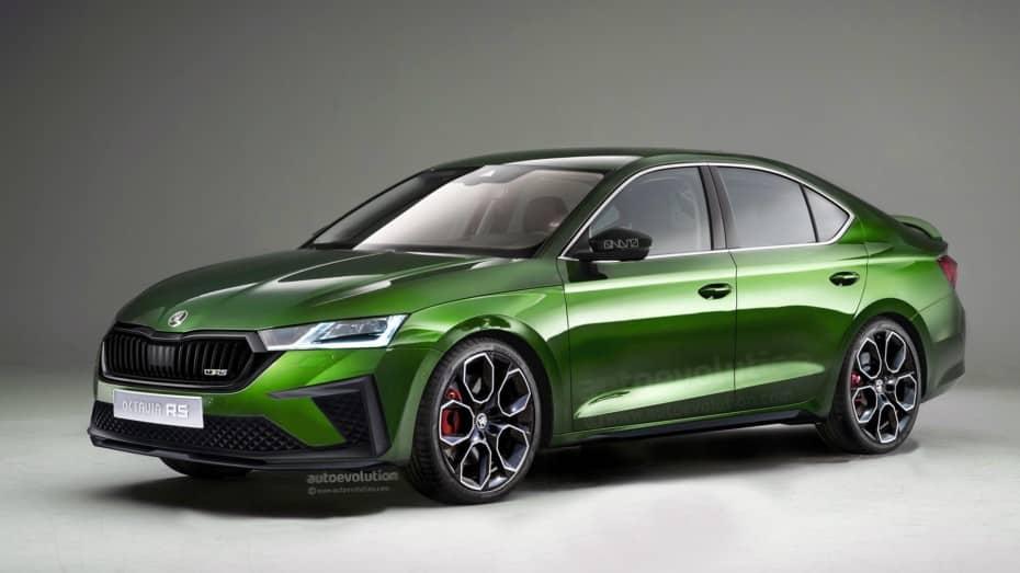El nuevo Škoda Octavia RS 2020 tiene muy buena pinta: Esto es lo que sabemos de él