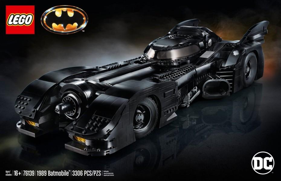 Si eres fan de Batman, este Set de LEGO del Batmobile de 1989 te va a encantar