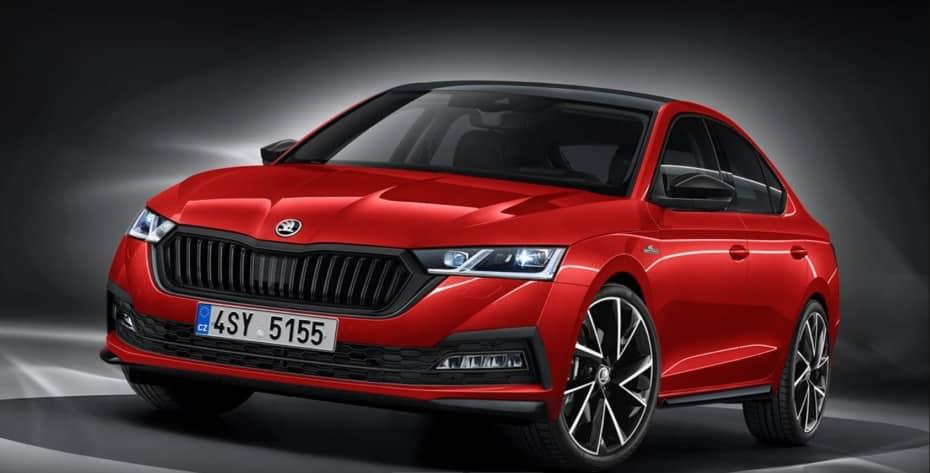 ¿Cómo luciría el Škoda Octavia en el acabado Monte Carlo?: Improbable pero atractivo