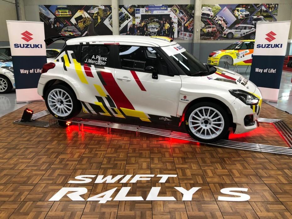 Así es el Suzuki Swift R4LLY S que busca alzarse con la victoria en la temporada 2020