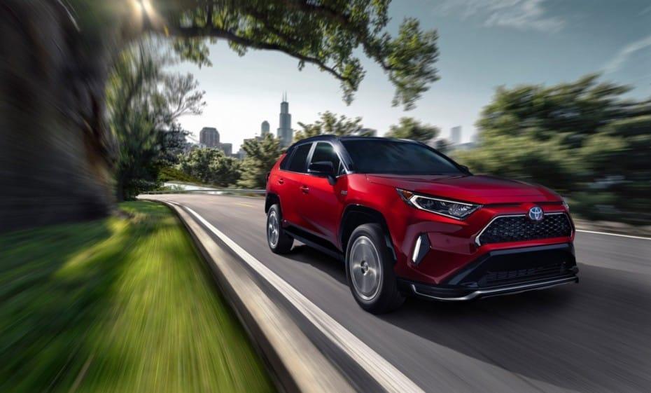 Toyota RAV4 Prime 2020: La versión híbrida-enchufable del SUV es también la más potente