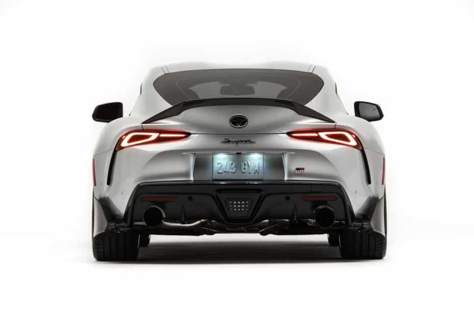 Así es el Toyota GR Supra Performance Line: Piezas de fibra de carbono y mejor aerodinámica