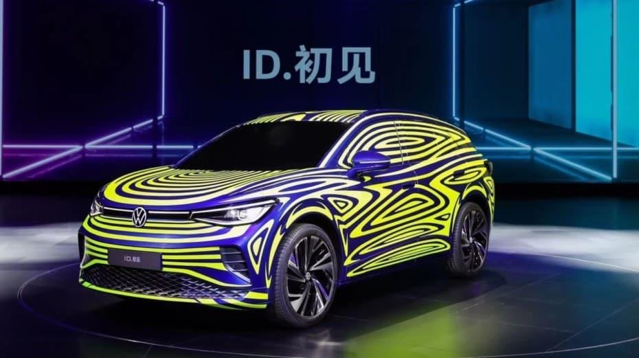 Volkswagen revela el aspecto de su primer SUV eléctrico de la familia ID: ¿ID.4?