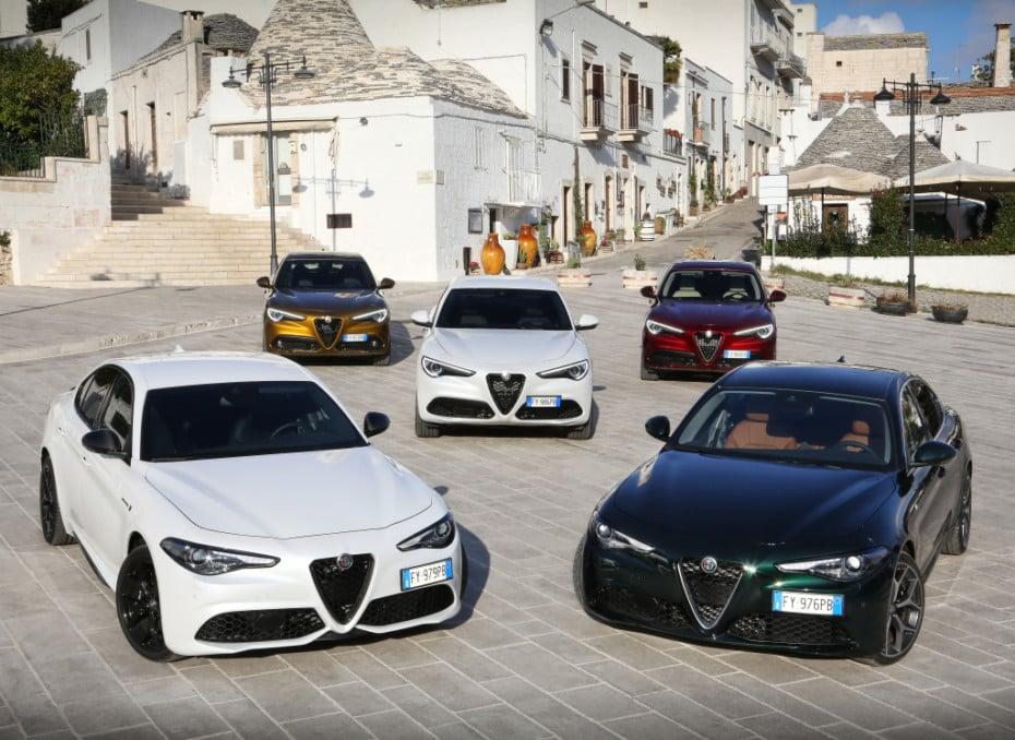 Nueva galería de imágenes de los renovados Alfa Romeo Giulia y Stelvio