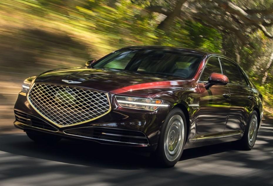 El Genesis G90 se pone al día: Más elegancia y distinción para la berlina grande