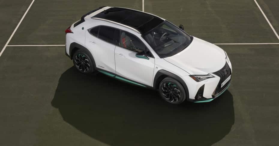 Nueva edición «Tennis Cup» para el Lexus UX