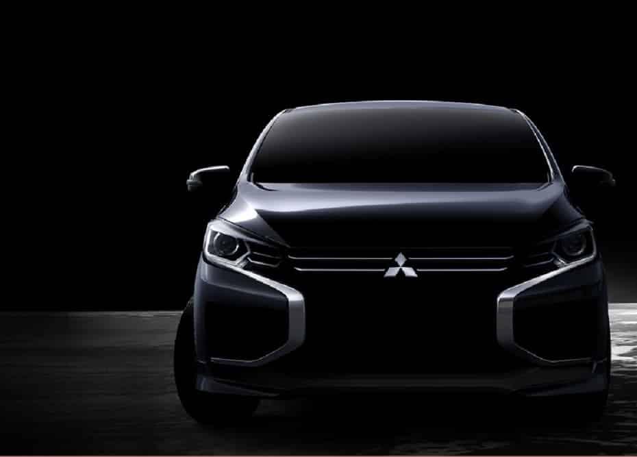 Mitsubishi nos anticipa el rediseño del Space Star / Mirage: Mucho más interesante