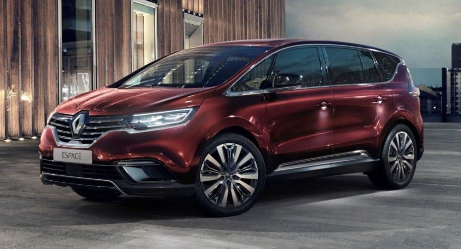 Ligera actualización para el Renault Espace