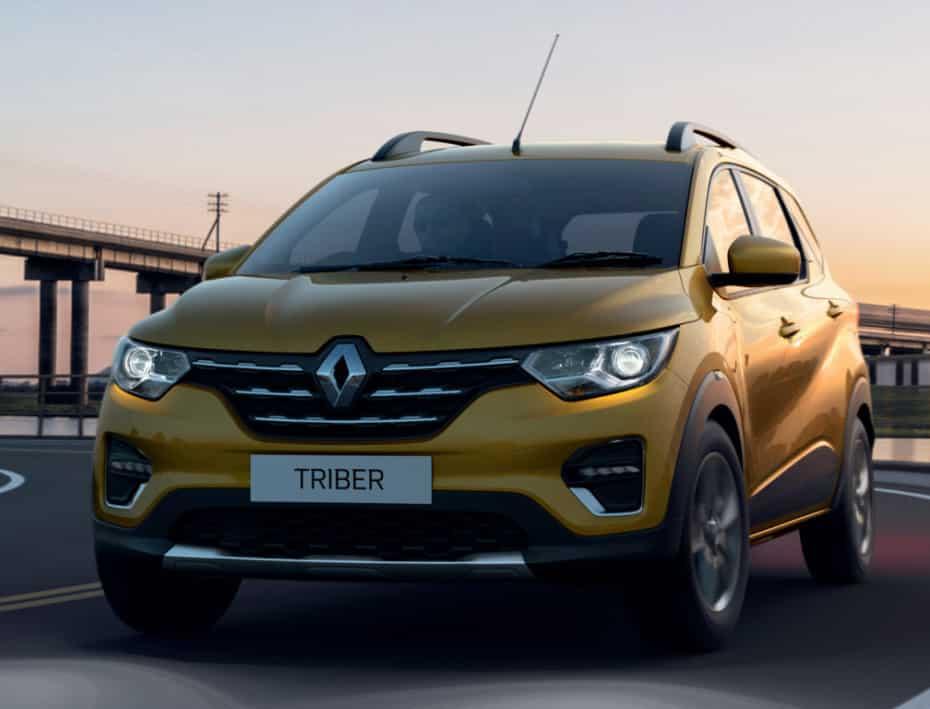 El Renault Triber será comercializado en América Latina y Oriente Medio