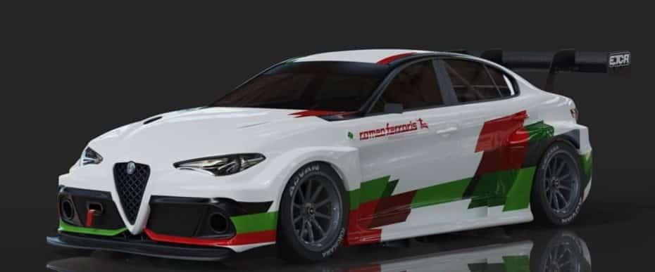 ¿Qué te parece la versión eléctrica del Alfa Romeo Giulia para el ETCR?