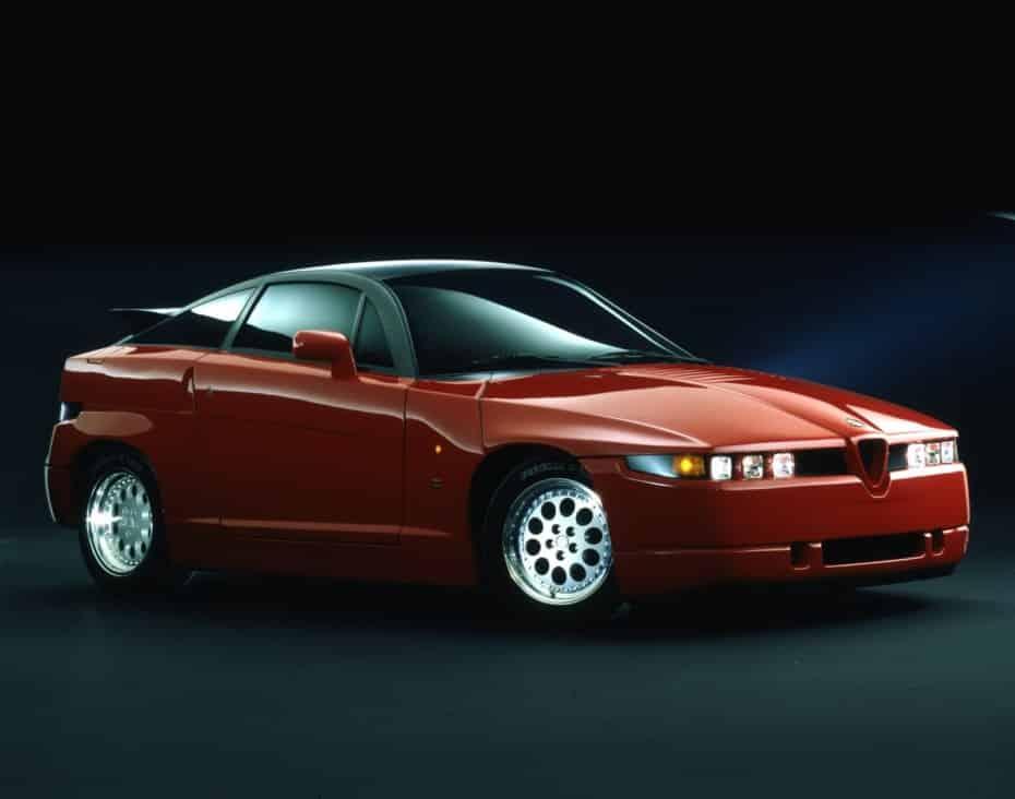 El Alfa Romeo SZ cumple 30 años: Un poco de historia de «Il Mostro»