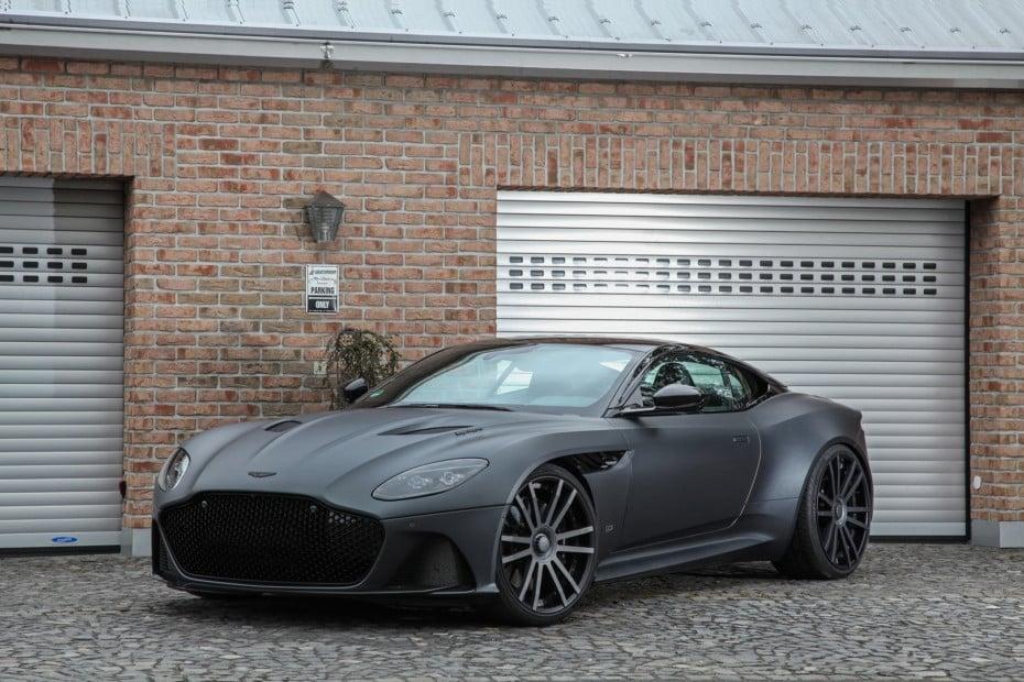 Este Aston Martin DBS Superleggera con más de 100 CV y 130 Nm extra no está nada mal…