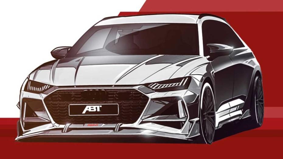 ABT está preparando algo muy gordo sobre la base del nuevo Audi RS 6 Avant