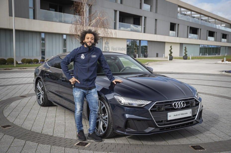 Si quieres sentirte como un jugador del Real Madrid, puedes hacerte con sus Audi de la pasada temporada