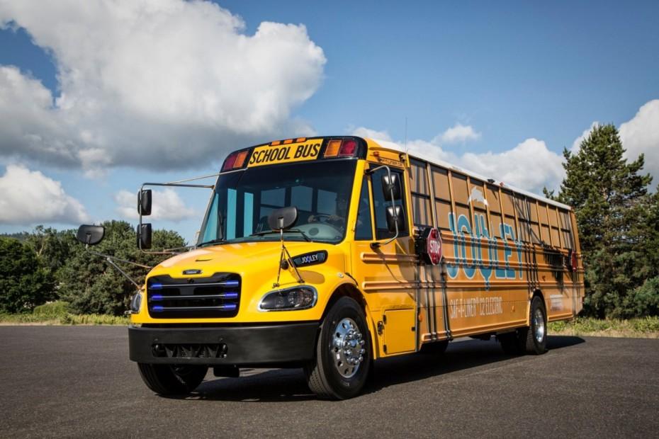 Los clásicos autobuses escolares amarillos ahora son eléctricos y se expanden rápidamente por EE.UU.