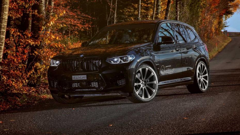Estos BMW X3 M y X4 M con 100 CV y 160 Nm extra son auténticas fieras