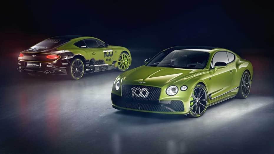 Bentley celebra su victoria en Pikes Peak con un Continental GT muy especial