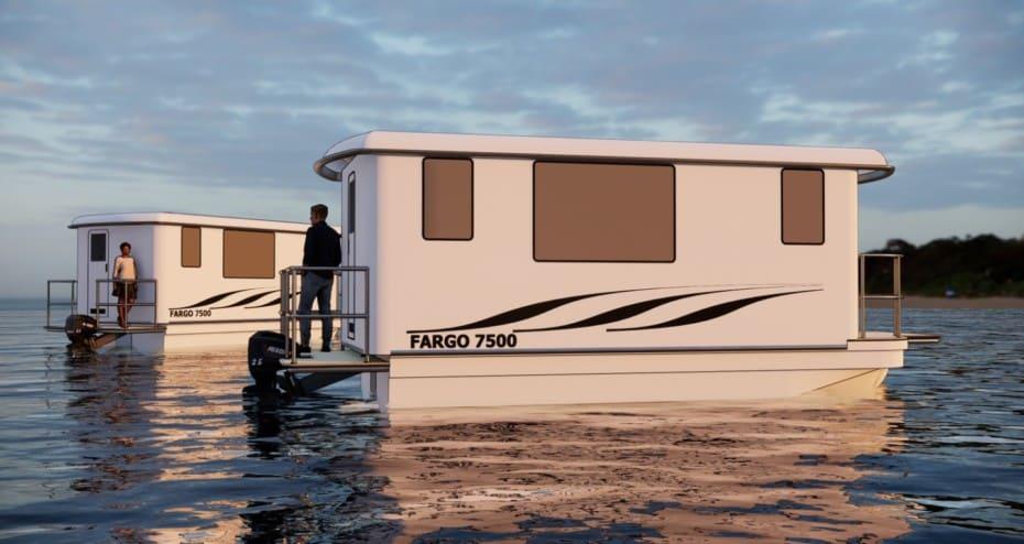 Hogar rodante, autocaravana, casa flotante o pisito en la montaña: Fargo te lo ofrece todo en uno
