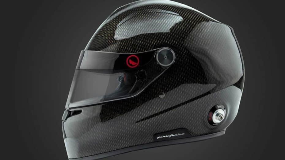 Lo último de Pininfarina y Roux Helmets es un casco refrigerado por agua